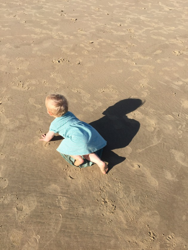 Beach crawling